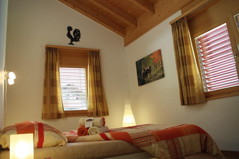 Master bedroom vakantiehuis LuxLax